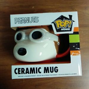 Funko pop snoopy mug